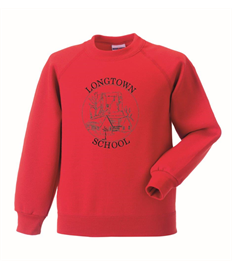 Longtown Primary Children's Raglan Sweatshirt
